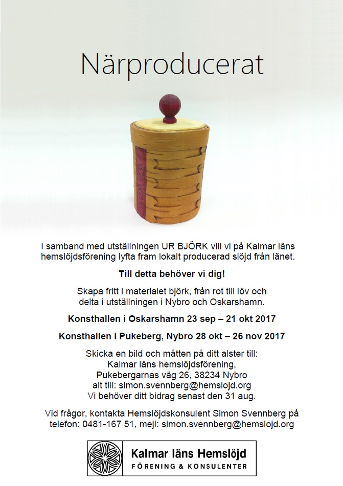 Affisch närproducerat