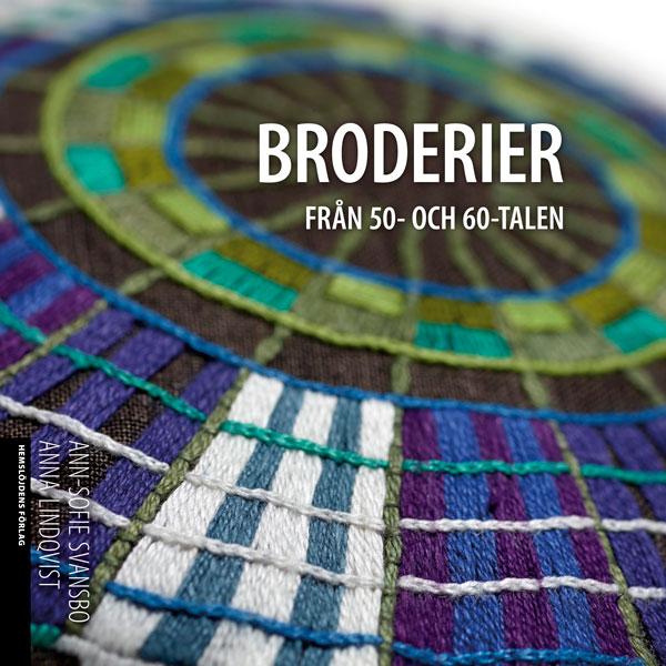 Bok Broderier från 50 och 60tal
