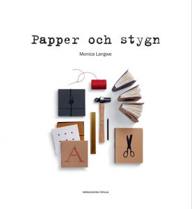 Bok Papper och stygn