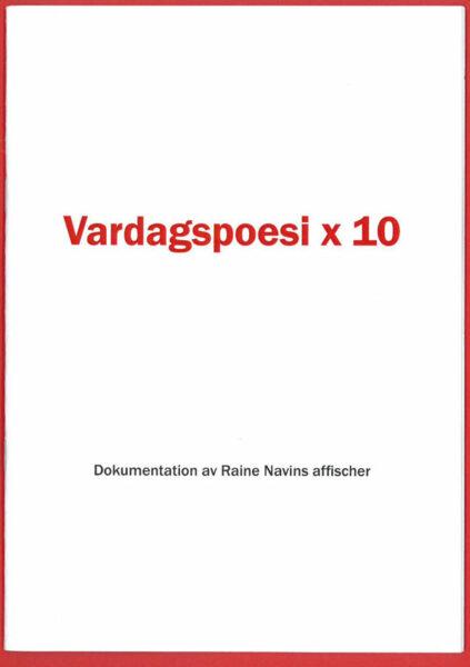 Bok Vardagspoesi