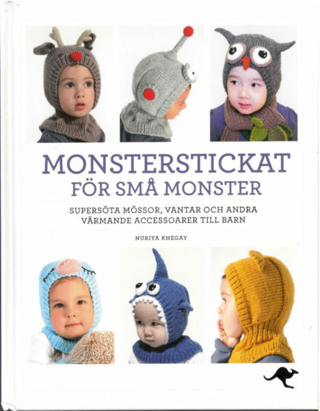 Bok Monsterstickat för små monster